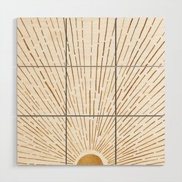 Let The Sunshine In Wood Wall Art