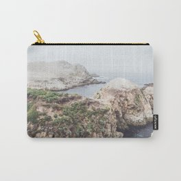Salt Flats | Misty Foggy Landscape Photography of California Ocean Coast Carry-All Pouch