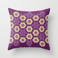 arab Throw Pillows featuring Arab #3 by Rafael CA