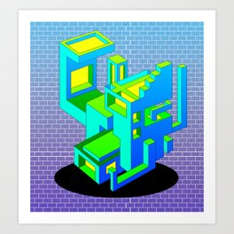Cool Haus Art Print