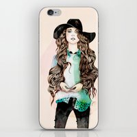 boho iPhone & iPod Skins featuring Boho Chic  by Felicia Cirstea