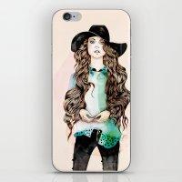 boho iPhone & iPod Skins featuring Boho Chic  by Felicia Atanasiu
