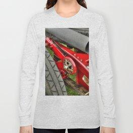 Vintage Car Rear Quarter Long Sleeve T-shirt