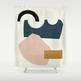 Shape Study #29 - Lola Collection Shower Curtain