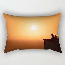 Sunset in Lima Rectangular Pillow
