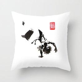 Capoeira 448 Throw Pillow