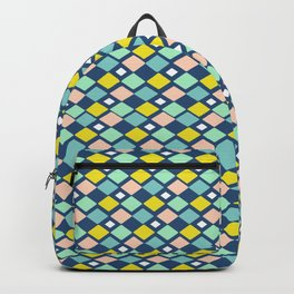 Geometric Colorful Pattern Backpack