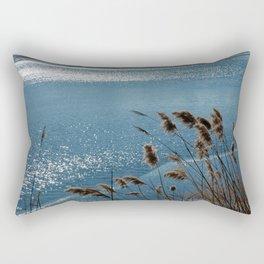 Layering with Ice Rectangular Pillow