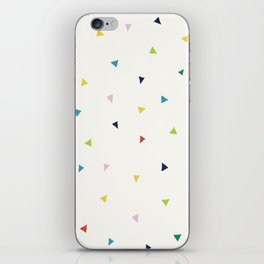 Cute Confetti Pattern iPhone Skin