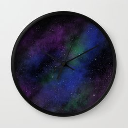 The Lonely Sky Wall Clock