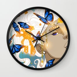 Butterflies Amazon Wall Clock