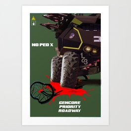 Sporto Propaganda II Art Print