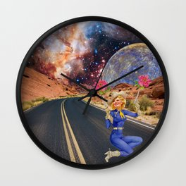 VICTORIA ROAD Wall Clock