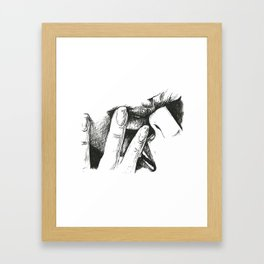 mistress Framed Art Print