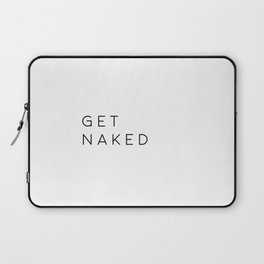 Bathroom Decor Printable Art Get Naked Bathroom Wall Art Nursery Decor Bathroom Poster Typography Qu Laptop Sleeve