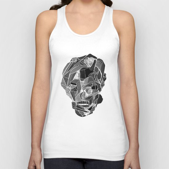 Death gives no reason Unisex Tank Top