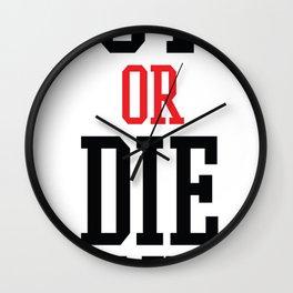 Vote Apocalypse Wall Clock