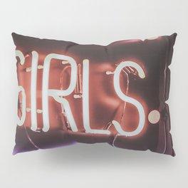 GIRLS NEON Pillow Sham