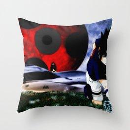 UchihaSasuke Throw Pillow