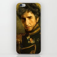 replaceface iPhone & iPod Skins featuring Bob Dylan - replaceface by replaceface