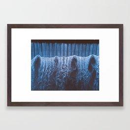 River Rapids - Ping River Aerial Shot - Thailand Framed Art Print