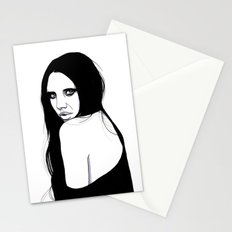 You Silent My Song Stationery Cards