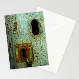 Keyhole 2  Stationery Cards