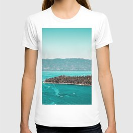 Even in the summer this lake looks like a frozen glass. T-shirt