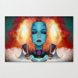 My fire will always burn bright Canvas Print