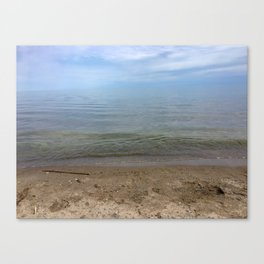 Shore of Woodbine Beach Canvas Print