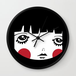 IN A Square Wall Clock