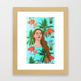 Lana Del Tropico Framed Art Print