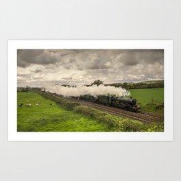 Silverton Steam  Art Print