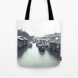 China Wuzhen Water Town Tote Bag