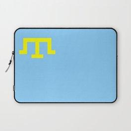 Crimean Tatar people flag russia Laptop Sleeve