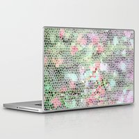 crystals Laptop & iPad Skins featuring Crystals by RoxEmme