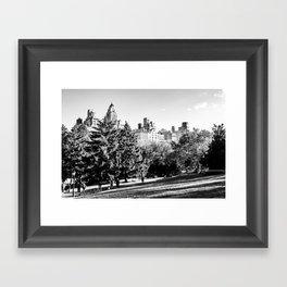 Central Park NYC Framed Art Print