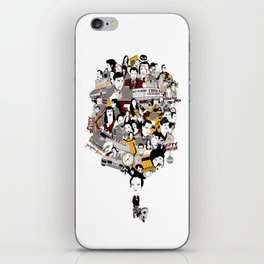 Quentin´s World iPhone Skin