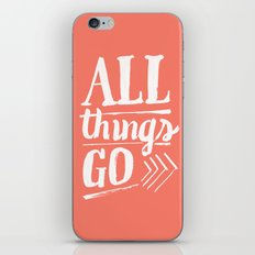 All things go iPhone & iPod Skin