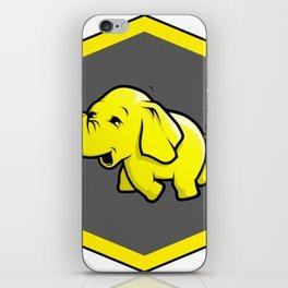 hadoop Stickers Elephant Programming Big data Sql  Developer iPhone Skin