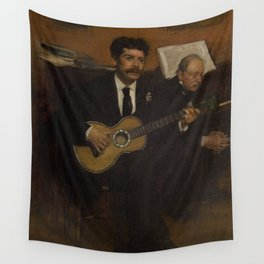 Lorenzo Pagans and Auguste de Gas Wall Tapestry