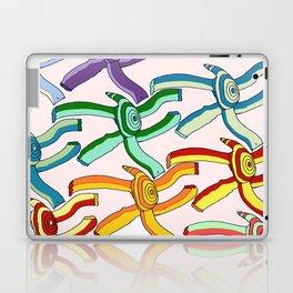 Marching Turtles Laptop & iPad Skin