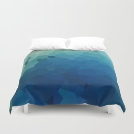 Sea Moon Love Duvet Cover