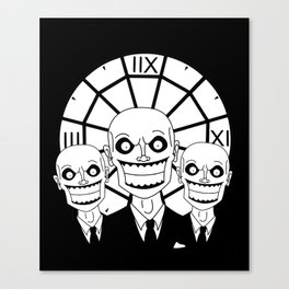 Hush - The Gentlemen (Black) Canvas Print