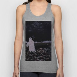 Lonely Nights Unisex Tank Top