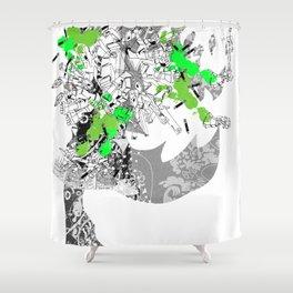 CutOuts - 8 Shower Curtain