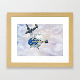 Glissando Framed Art Print