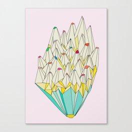 Pencil Canvas Print