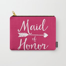Maid Of Honor Wedding Quote Carry-All Pouch