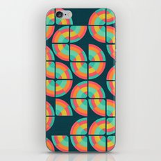 An abstract topography iPhone & iPod Skin
